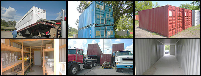 Storage Units in Houston TX Mobile Container Storage Units